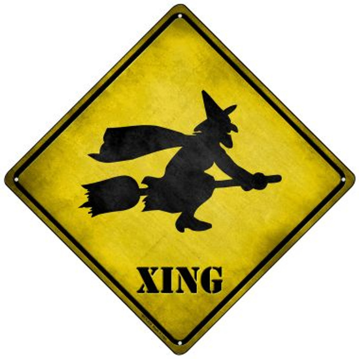 Simple Witch Xing Wholesale Novelty Mini Metal Crossing Sign MCX-218