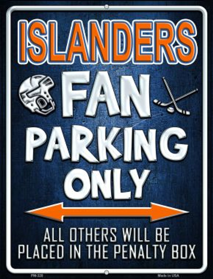 Islanders Wholesale Novelty Mini Metal Parking Sign PM-320
