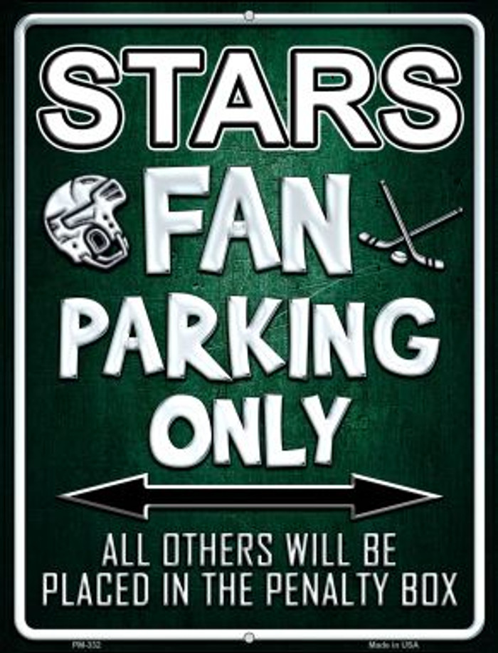 Stars Wholesale Novelty Mini Metal Parking Sign PM-332