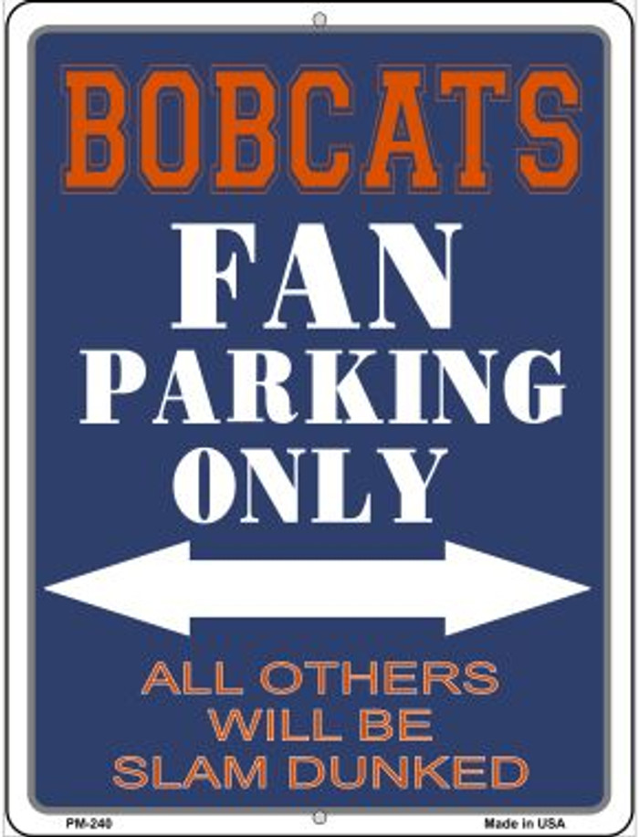 Flames Wholesale Novelty Mini Metal Parking Sign PM-340