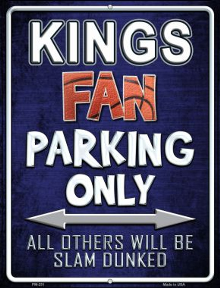 Kings Wholesale Novelty Mini Metal Parking Sign PM-251