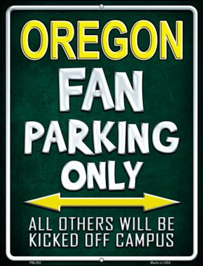 Oregon Wholesale Novelty Mini Metal Parking Sign PM-293