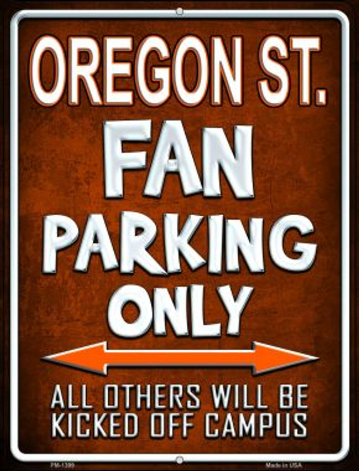 Oregon State Wholesale Novelty Mini Metal Parking Sign PM-1399