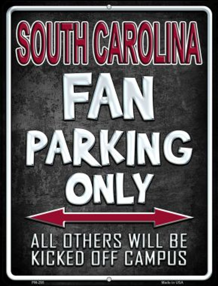 South Carolina Wholesale Novelty Mini Metal Parking Sign PM-295