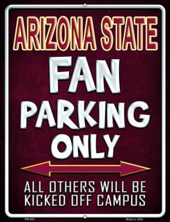 Arizona State Wholesale Novelty Mini Metal Parking Sign PM-303