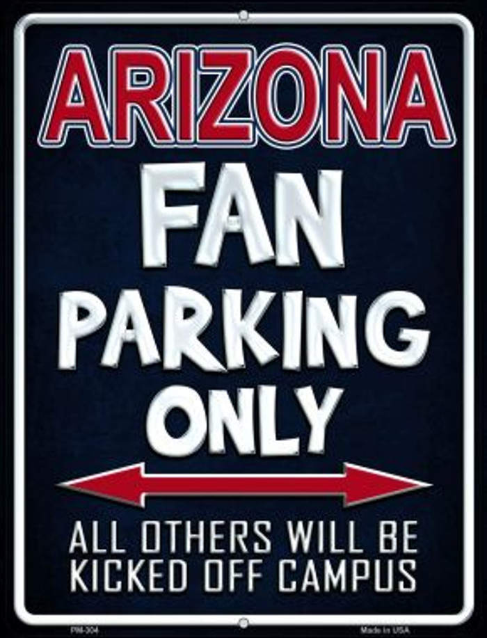Arizona Wholesale Novelty Mini Metal Parking Sign PM-304