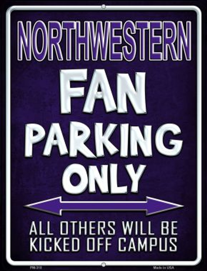 Northwestern Wholesale Novelty Mini Metal Parking Sign PM-310