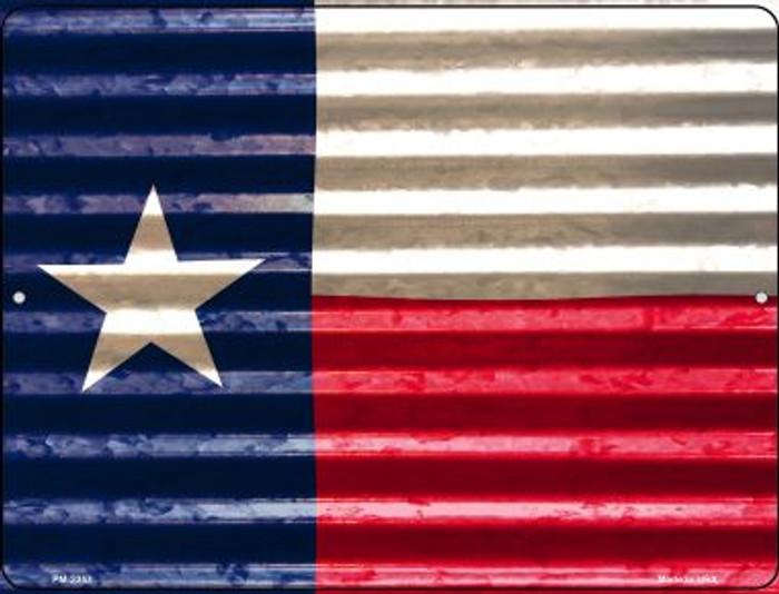 Texas Flag Wholesale Novelty Mini Metal Parking Sign PM-2357