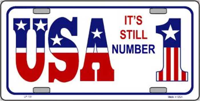 USA Still 1 Novelty Wholesale Metal License Plate LP-131