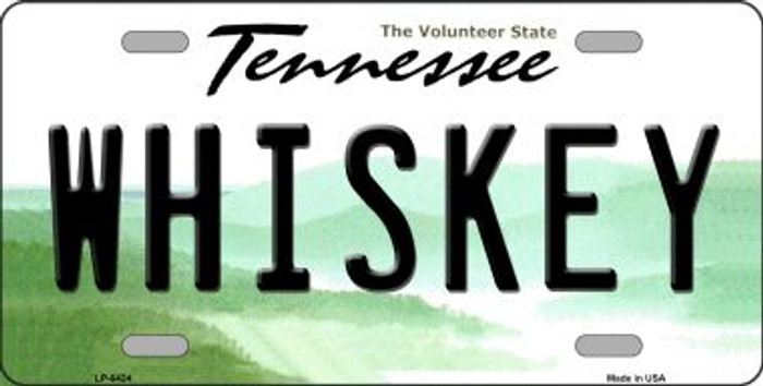 Whiskey Tennessee Novelty Wholesale Metal License