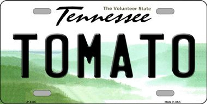 Tomato Tennessee Novelty Wholesale Metal License