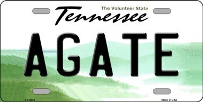 Agate Tennessee Novelty Wholesale Metal License Plate