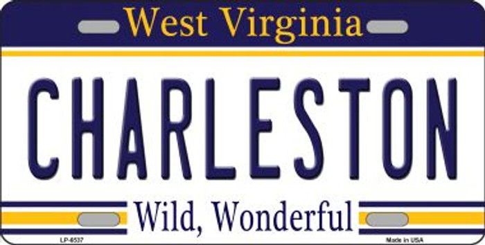Charleston West Virginia Novelty Wholesale Metal License Plate