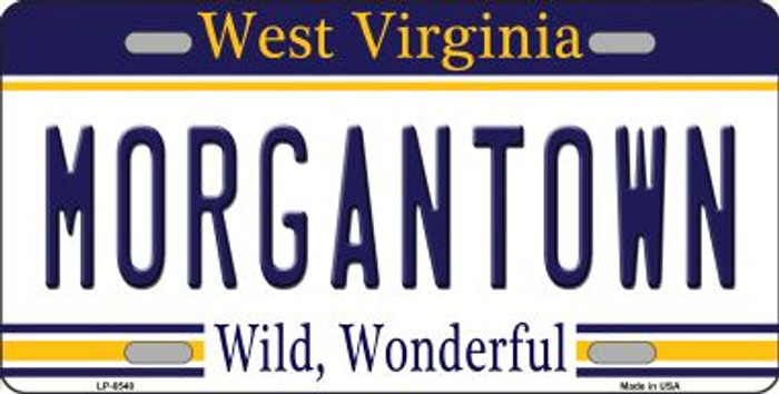 Morgantown West Virginia Novelty Wholesale Metal License Plate