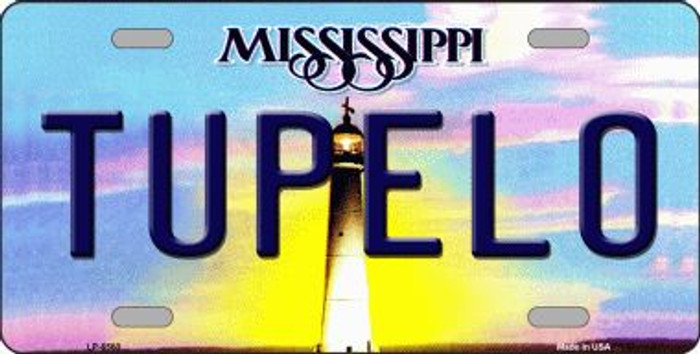 Tupelo Mississippi Novelty Wholesale Metal License Plate