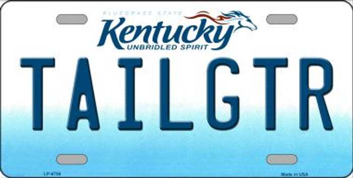 Tailgtr Kentucky Novelty Wholesale Metal License Plate