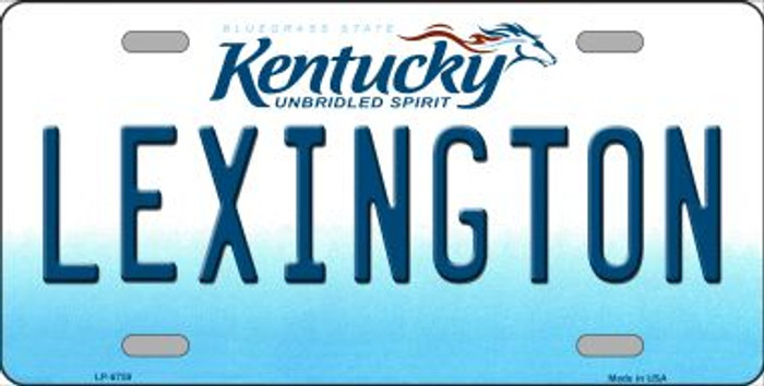 Lexington Kentucky Novelty Wholesale Metal License Plate