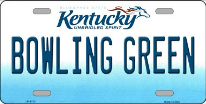 Bowling Green Kentucky Novelty Wholesale Metal License Plate