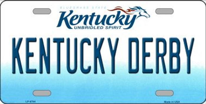 Kentucky Derby Kentucky Novelty Wholesale Metal License Plate