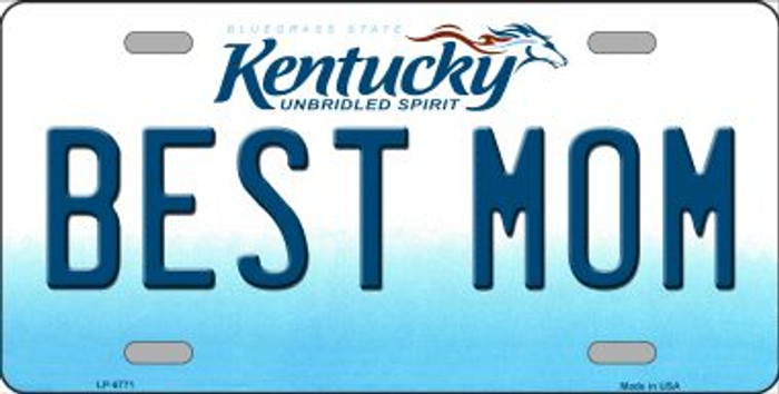 Best Mom Kentucky Novelty Wholesale Metal License Plate