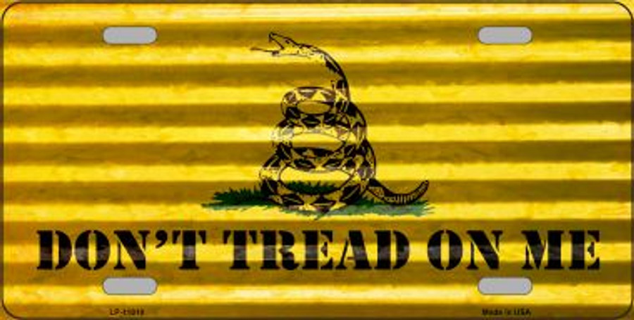 Don't Tread On Me Wholesale Novelty License Plate LP-11810