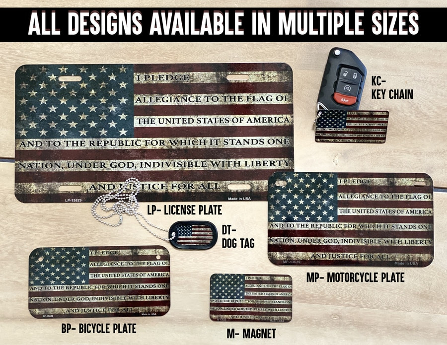 All designs available in multiple sizes