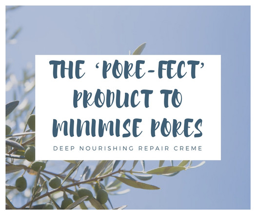 The 'PORE-FECT' product to minimise pores!