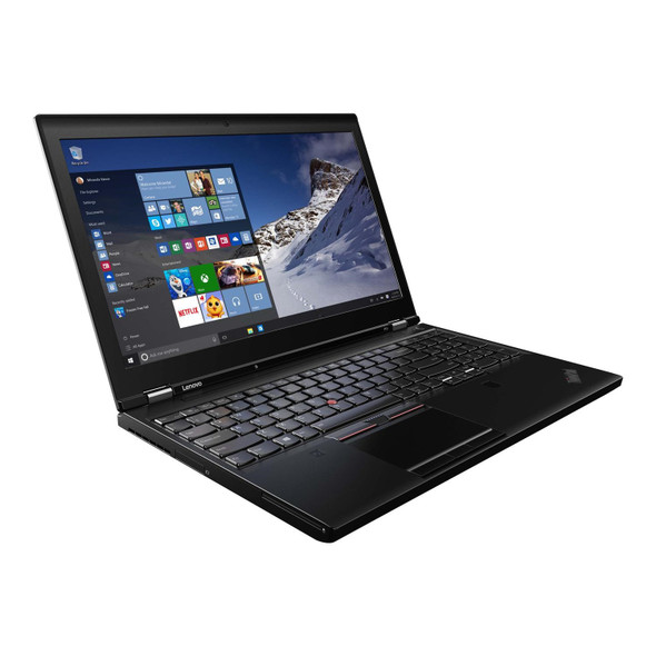 "Refurbished Lenovo ThinkPad P51 15.6"" i7 16GB 256GB SSD W10 Pro"