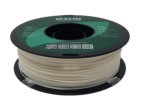 eSUN 3D printer PLA filament White