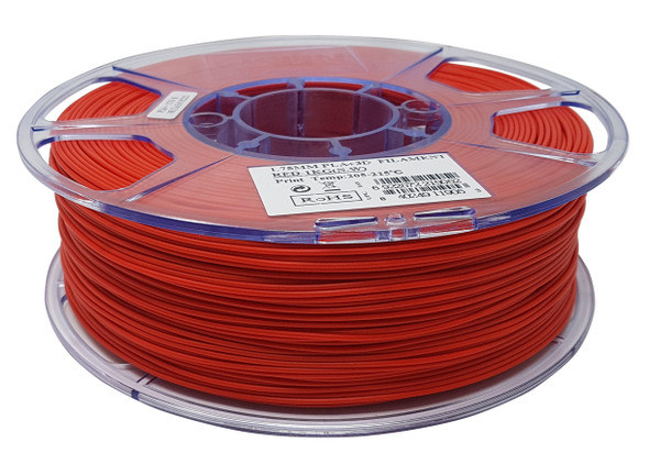 eSUN 3D printer PLA filament Red