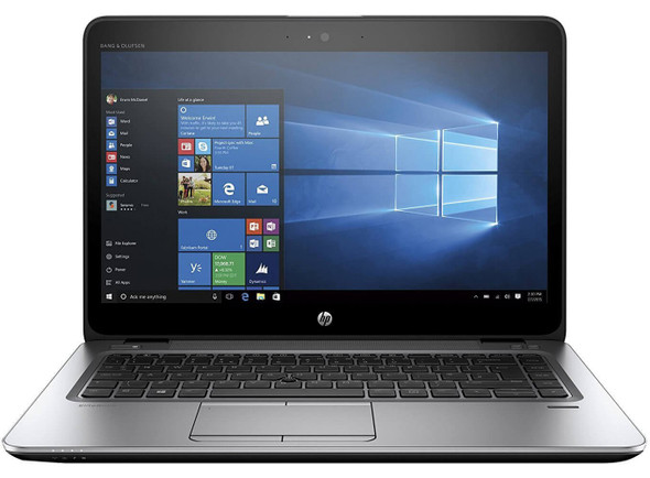 "Refurbished HP 745 G3 14"" AMD A10 8GB 128GB SSD W10 PRO"