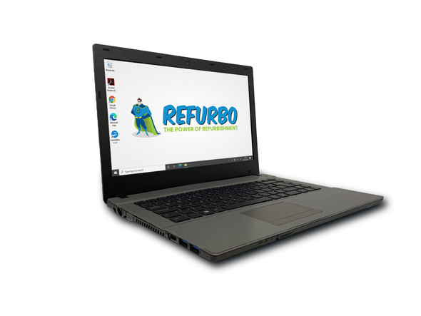"Refurbished Ergo W540AU 13.9"" i3 8GB 128GB SSD W10 Pro"