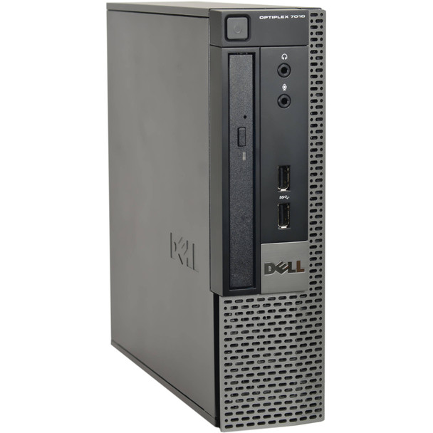 Refurbished Dell 7010 USFF home office bundle