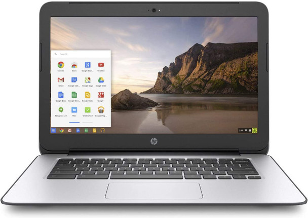 chromebook 14 G4 - black and silver