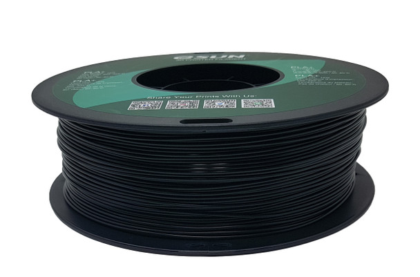 eSUN 3D printer PLA filament Black