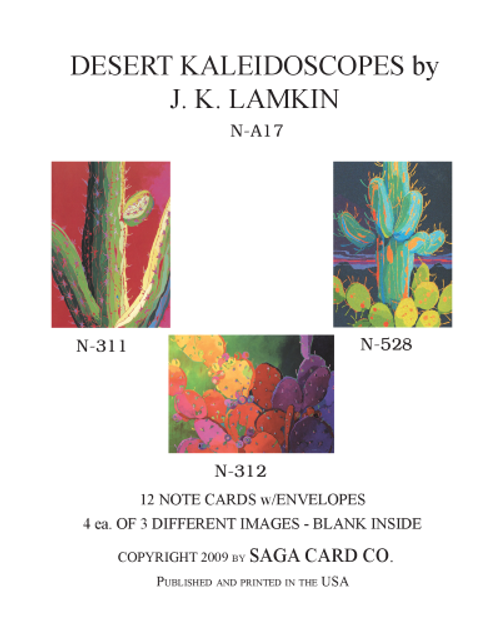 N-A17 Desert Kaleidoscopes by J.K. Lamkin