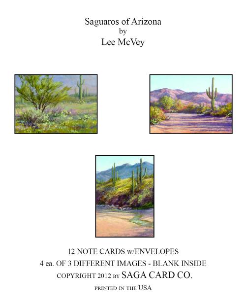 N-A19 Saguaros of Arizona by Lee McVey
