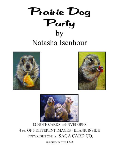 N-A23 Prairie Dog Party by Natasha Isenhour
