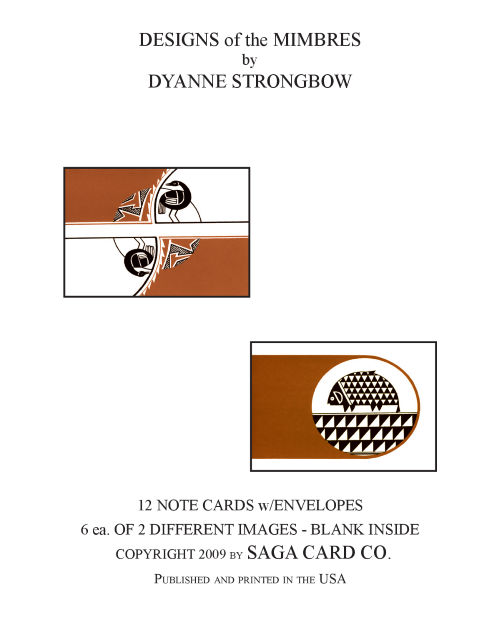 N-A27 Designs of the Mimbres by Dyanne Strongbow