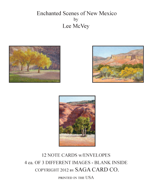 N-A30  Enchanted Scenes of New Mexico by Lee McVey