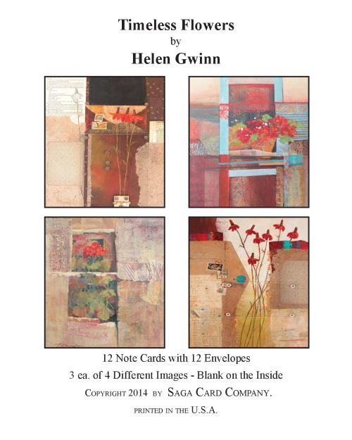 N-A36 Timeless Flowers by Helen Gwinn