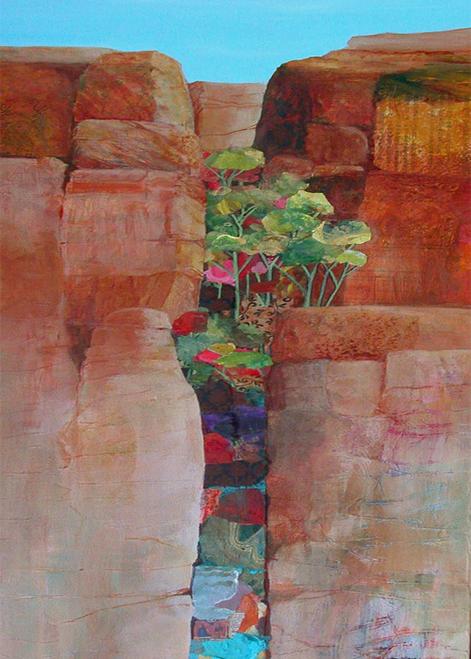 N-914 Canyon Poetry by Helen Gwinn