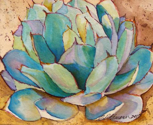 N-931 Painted Agave