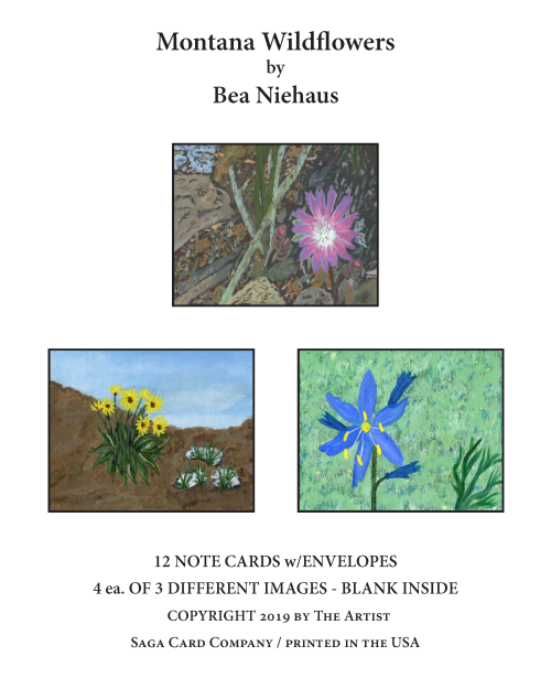 N-A50 Montana Wildflowers by Bea Nieahus