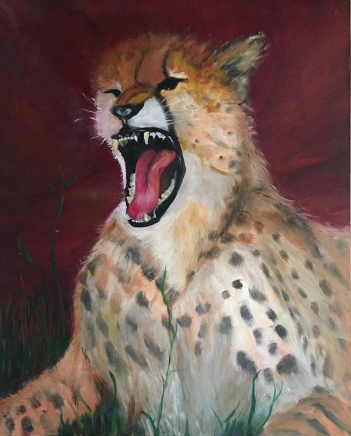 AC-993 Cheetah by Charlene Beil