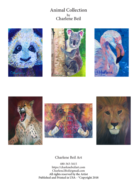 ACA-1001 Animal Collection by Charlene Beil