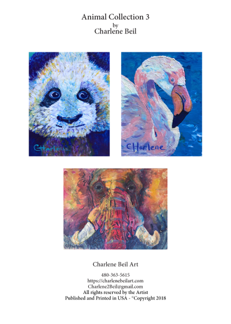 ACA-1003 Animal Collection 3 by Charlene Beil