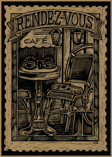 AC1007 Rendez-Vous Cafe by William Rotsaert
