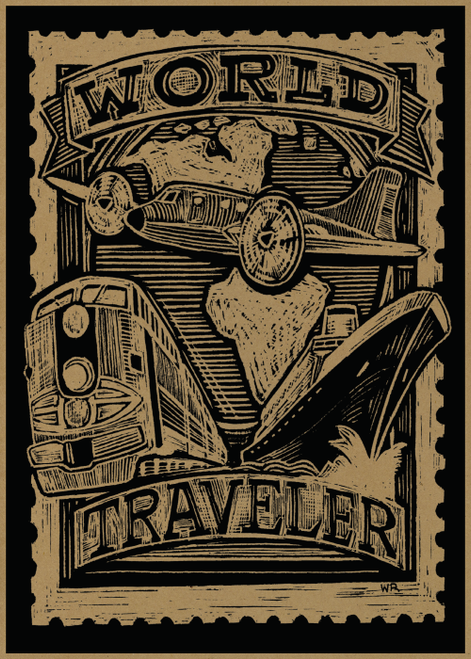 AC1009 World Traveler by William Rotsaert