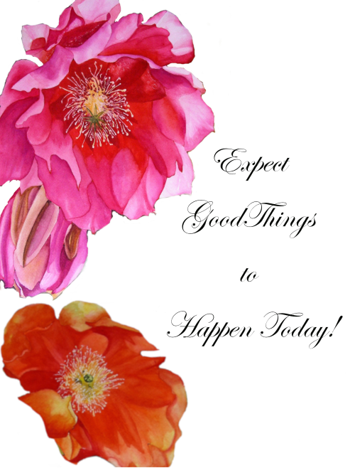Expect Good Things To Happen